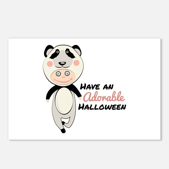 Adorable Halloween Postcards (Package of 8)
