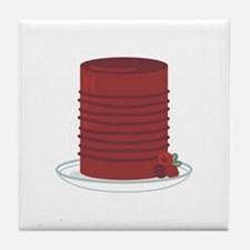 Canned Cranberries Tile Coaster