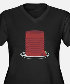 Canned Cranberries Plus Size T-Shirt