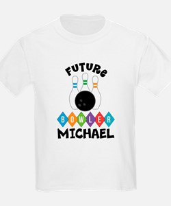 Personalized Kids Bowling T-Shirt