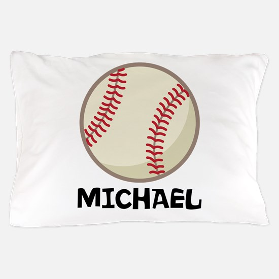 Personalized Baseball Sports Pillow Case