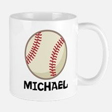 Personalized Baseball Sports Mugs