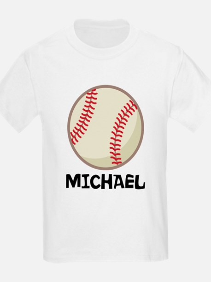 Personalized Baseball Sports T-Shirt