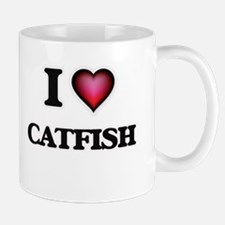 I Love Catfish Mugs