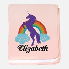 Personalized Unicorn Gift baby blanket
