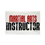Martial Arts Instructor 2 Rectangle Magnet (10 pac