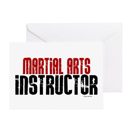 Martial Arts Instructor 2 Greeting Card