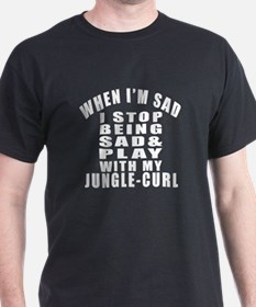 Play With Jungle-curl Cat T-Shirt