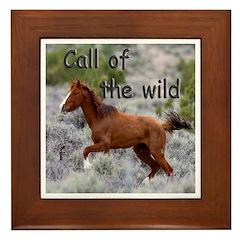 Call Of The Wild Framed Tile