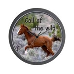 Call Of The Wild Wall Clock