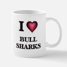I Love Bull Sharks Mugs