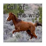 Call Of The Wild Tile Coaster
