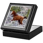 Call Of The Wild Keepsake Box