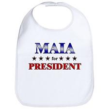 MAIA for president Bib