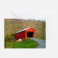 Busching Bridge -Versailles, Indiana Greeting Card