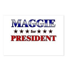 MAGGIE for president Postcards (Package of 8)