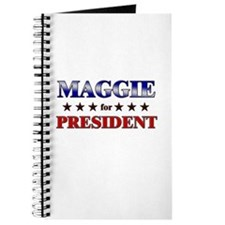 MAGGIE for president Journal