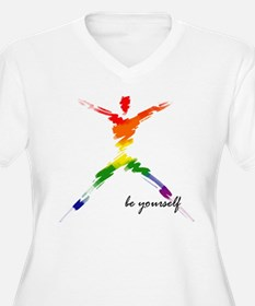Be Yourself copy Plus Size T-Shirt