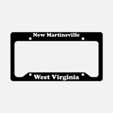 New Martinsville WV - LPF License Plate Holder