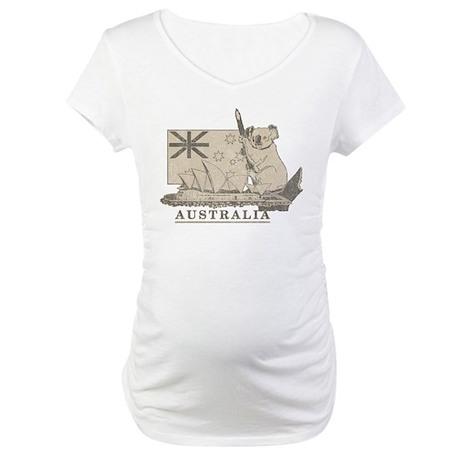 Vintage Australia Maternity T-Shirt