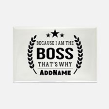 Gifts for Boss Personalized Rectangle Magnet