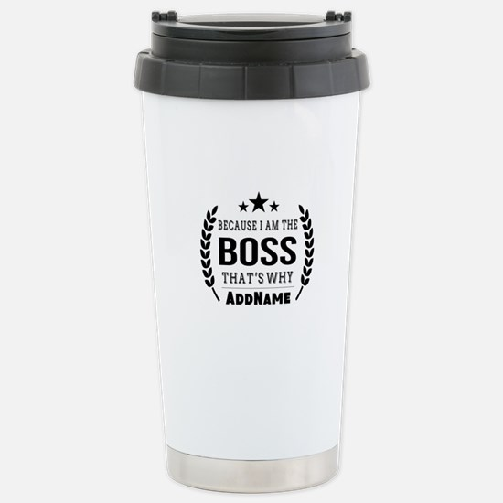 Gifts for Boss Personal Stainless Steel Travel Mug