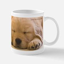 Golden Retriever Sleepy Pups Mug