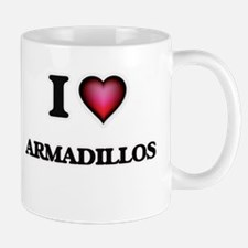 I Love Armadillos Mugs