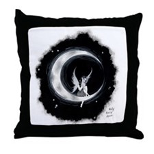 Midnight Amaris Throw Pillow