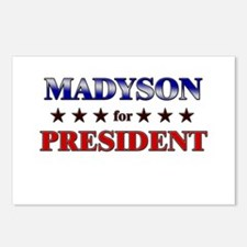 MADYSON for president Postcards (Package of 8)