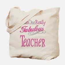 Fabulous Teacher Tote Bag