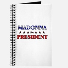 MADONNA for president Journal