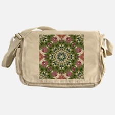 Unique Floral and botanical Messenger Bag