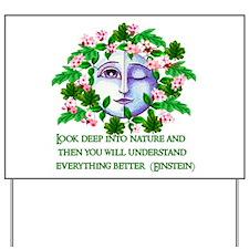Pagan Spring Goddess Yard Sign