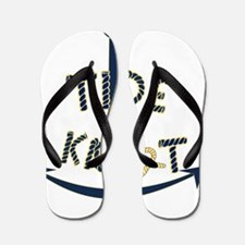 Cute Sailboats Flip Flops