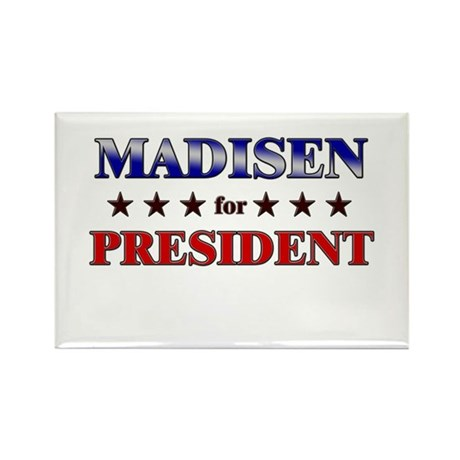 MADISEN for president Rectangle Magnet (10 pack)