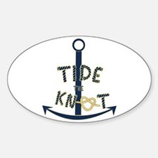 Tide the knot Decal