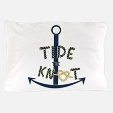 Tide the knot Pillow Case
