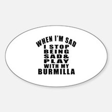 Play With Burmilla Cat Decal