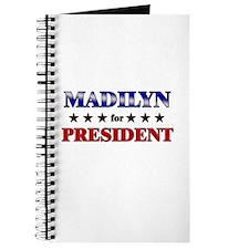 MADILYN for president Journal