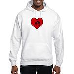 I heart Wrestling Hooded Sweatshirt
