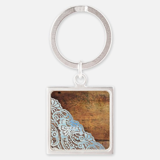Unique Vintage country Square Keychain