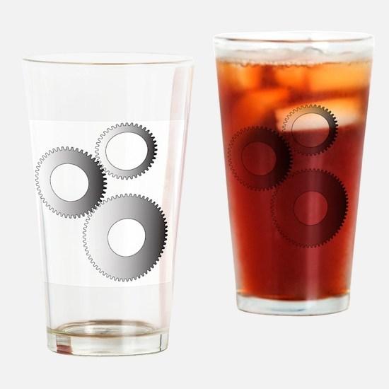 Cool Torque Drinking Glass
