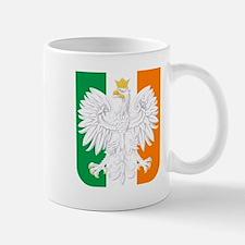 Polish Irish Coat of Arms Mugs