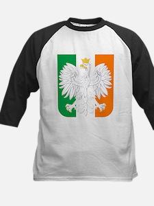 Polish Irish Coat of Arms Baseball Jersey