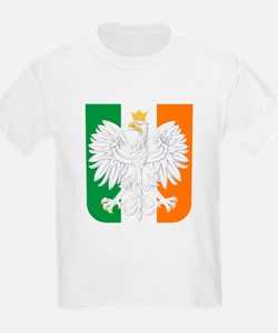 Polish Irish Coat of Arms T-Shirt