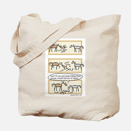 Horse Treats Tote Bag