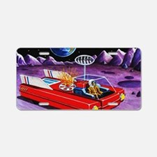 LUNAR TRANSPORT Aluminum License Plate