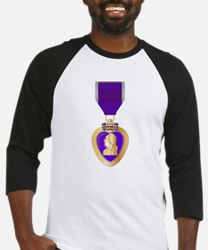 Purple Heart Medal Baseball Jersey