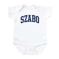 SZABO design (blue) Infant Bodysuit